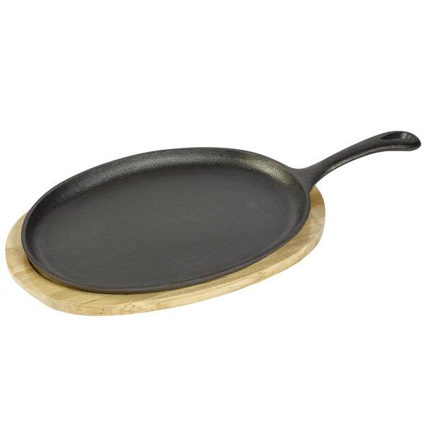Oval 2-Piece Large Fajita Set by Basic Essentials