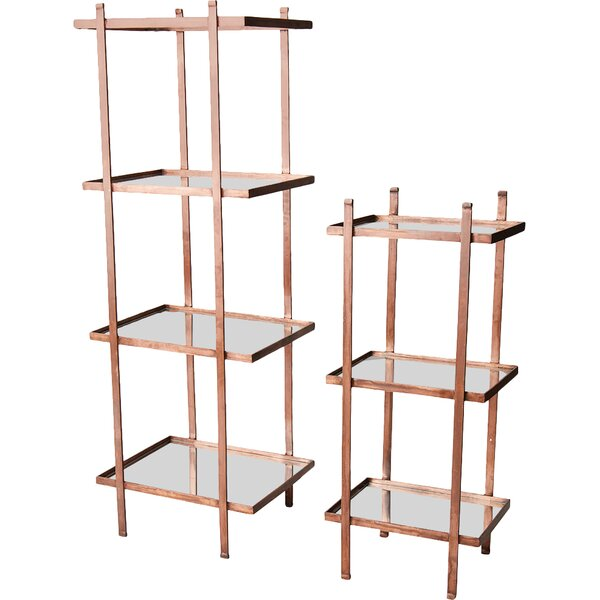 Vine 2 Piece Etagere Bookcase by Brayden Studio