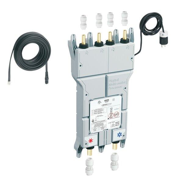 Iodigital 0.75 CC CPVC Inlet Push Fit Connectors Outlet Push Fit Pex Connection by Moen