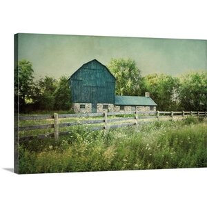 'Blissful Country III' by Elizabeth Urquhart Photographic Print on Wrapped Canvas by Great Big Canvas