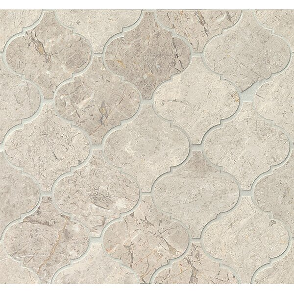 Marble Mosaic Tile in Sebastian Grey by Grayson Martin