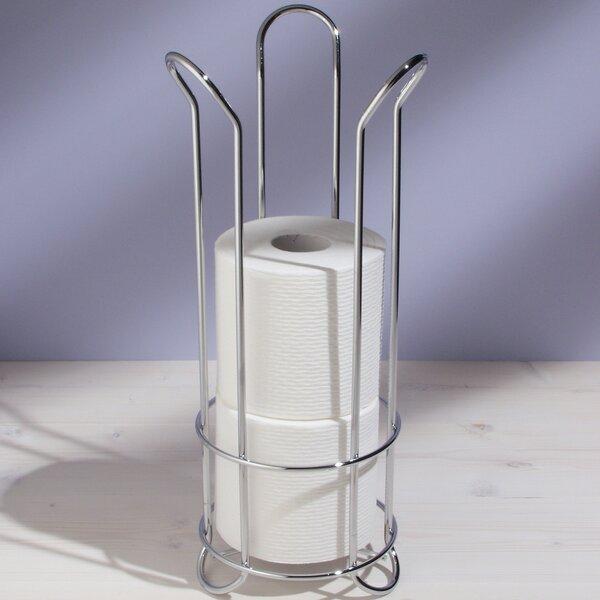 Free Standing Tulip Toilet Paper Holder by InterDesign
