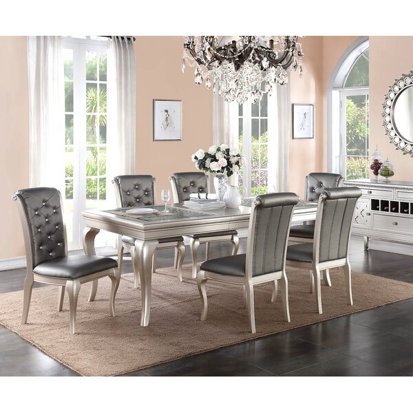 Hoskins 7 Piece Dining Set by Rosdorf Park