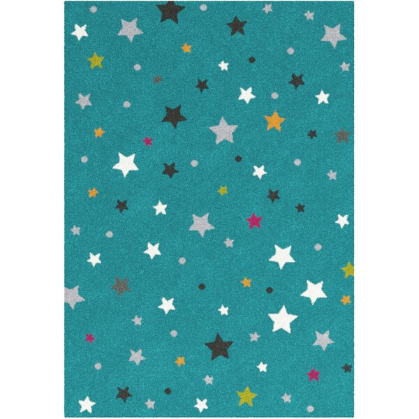 Shevchenko Place Blue Area Rug by Harriet Bee
