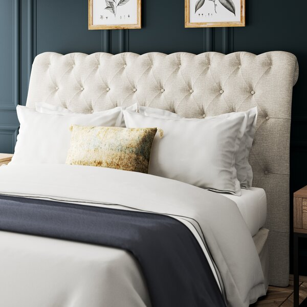 Ballwin Upholstered Panel Headboard by Greyleigh