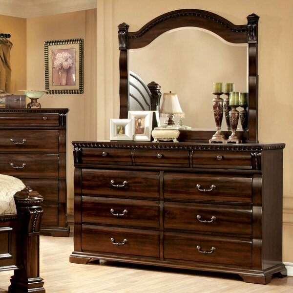 Futrell 9 Drawer Dresser with Mirror by Astoria Grand