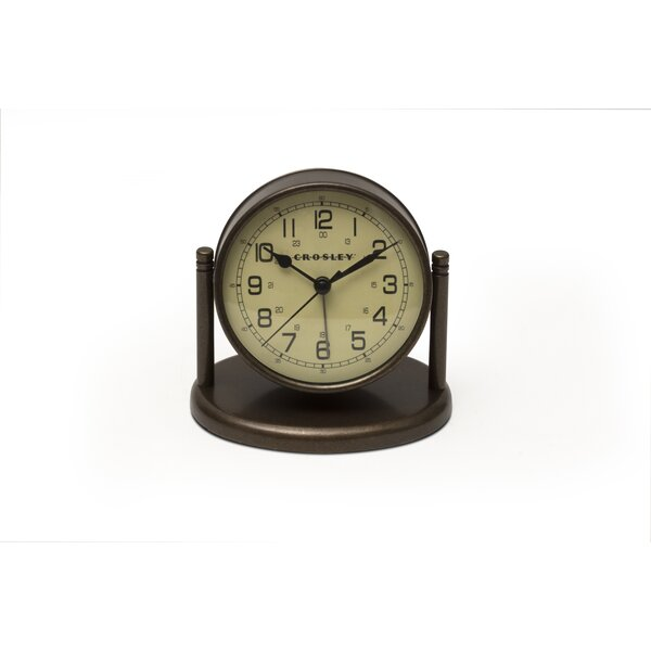 Tabletop Clock by Crosley