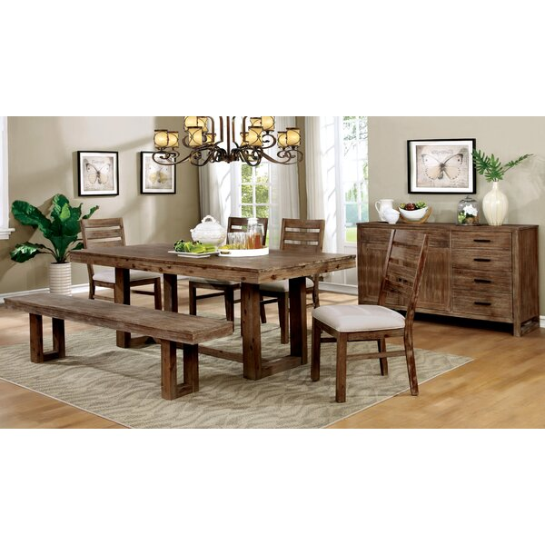 Zeno 6 Piece Dining Set by August Grove