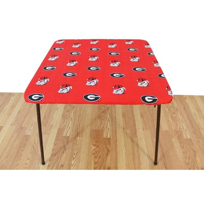 "NCAA Patio Table Covers College Covers Size: 33"" W x 33"" D, NCAA Team: Michigan"