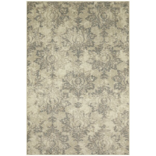 Mancheer Ivory/Gray Area Rug by Ophelia & Co.