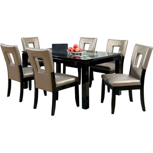 Vanderbilte 7 Piece Dining Set by Hokku Designs