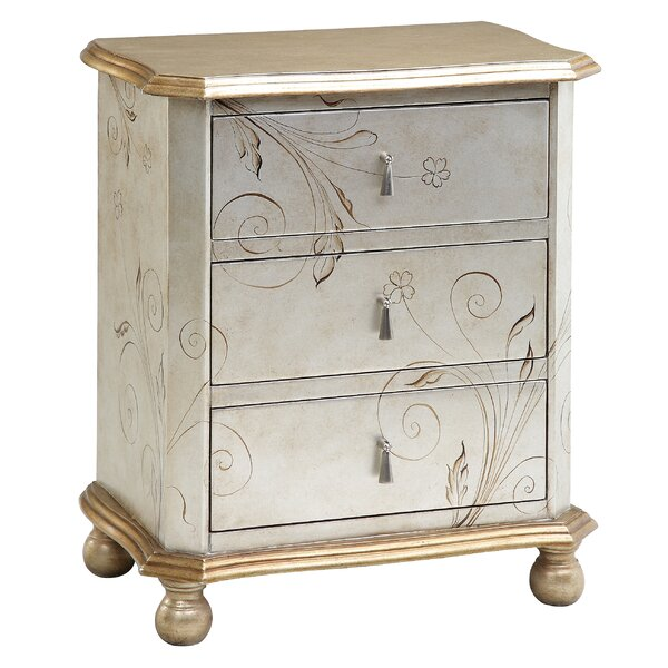 Roxie 3 Drawer Chest by Darby Home Co