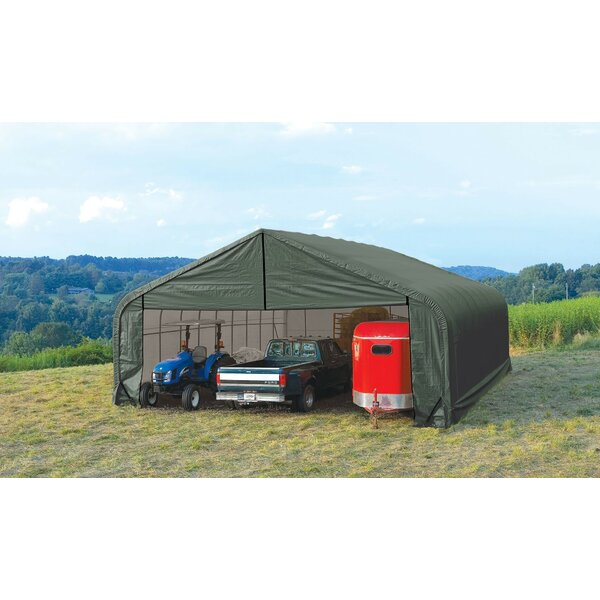 Peak Standard 28 Ft. X 28 Ft. Garage By Shelterlogic.