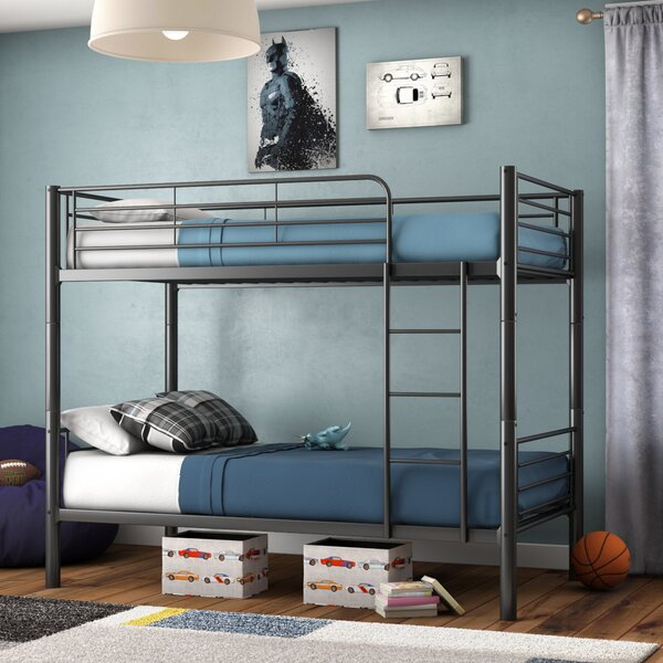 Koffler Twin Over Twin Bunk Bed By Mack & Milo by Mack & Milo Comparison