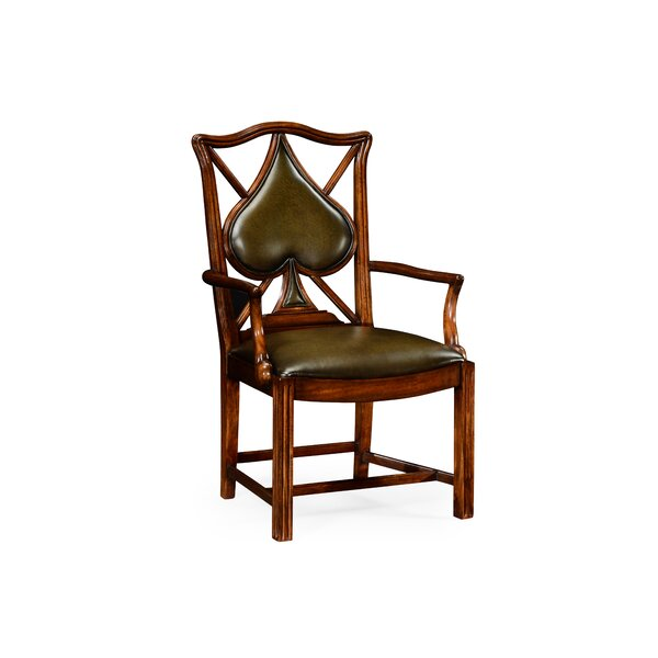 Serpentine Upholstered Dining Chair by Jonathan Charles Fine Furniture