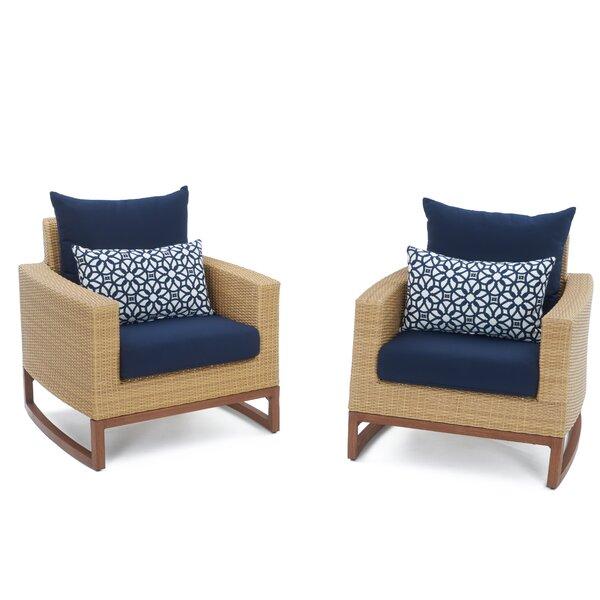 Addison Patio Chair with Sunbrella Cushions by Bayou Breeze