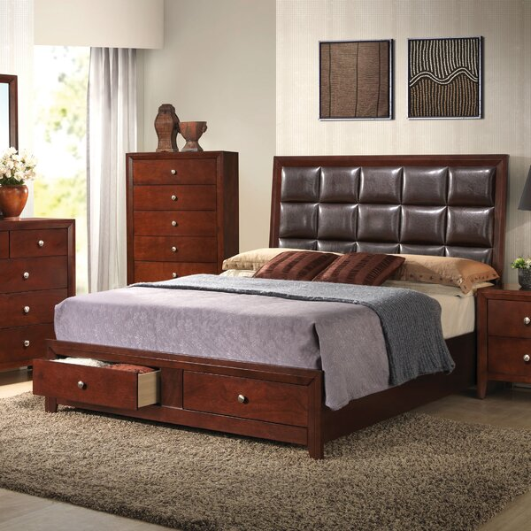Lanphear Upholstered Storage Platform Bed by Red Barrel Studio