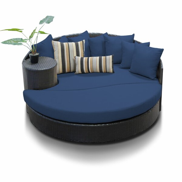 Newport Circular Sun Daybed with Cushions by TK Classics