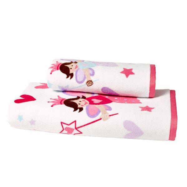 Tierra Princess Cotton Hand Towel by Zoomie Kids