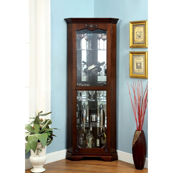 Baysden Corner Curio Cabinet by Astoria Grand