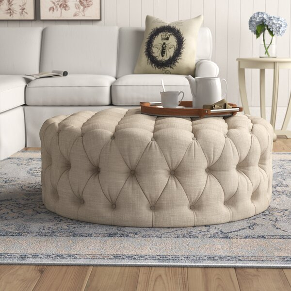 Bourges Cocktail Ottoman By Feminine French Country