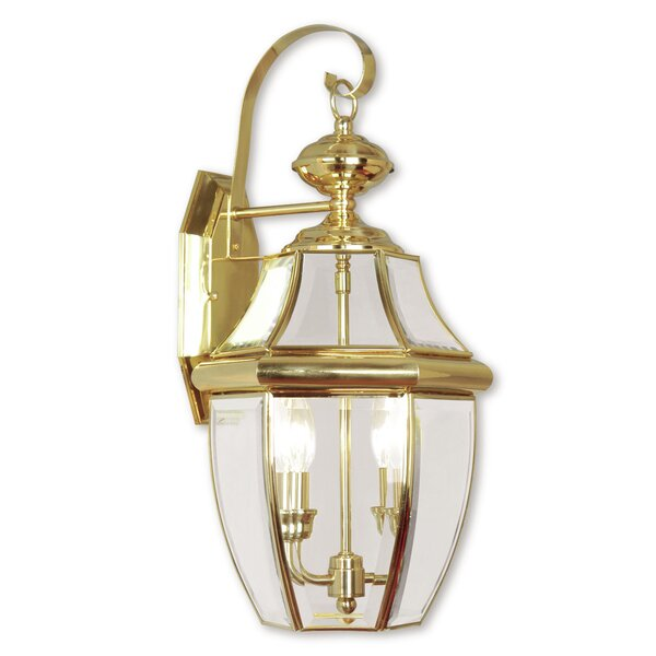 Weisberg Outdoor Wall Lantern by Charlton Home