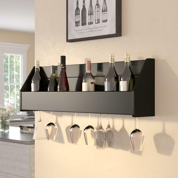 Klatt 18 Bottle Wall Mounted Wine Rack by Zipcode Design