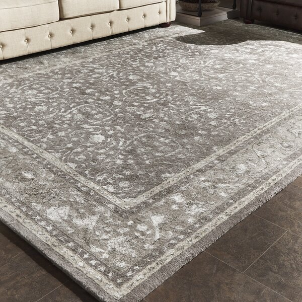 Heimann Hand-Tufted Gray Area Rug by Darby Home Co