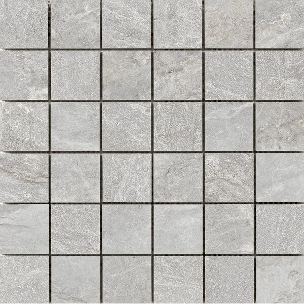Milestone 2 x 2 Porcelain Mosaic Tile in Moon by Emser Tile