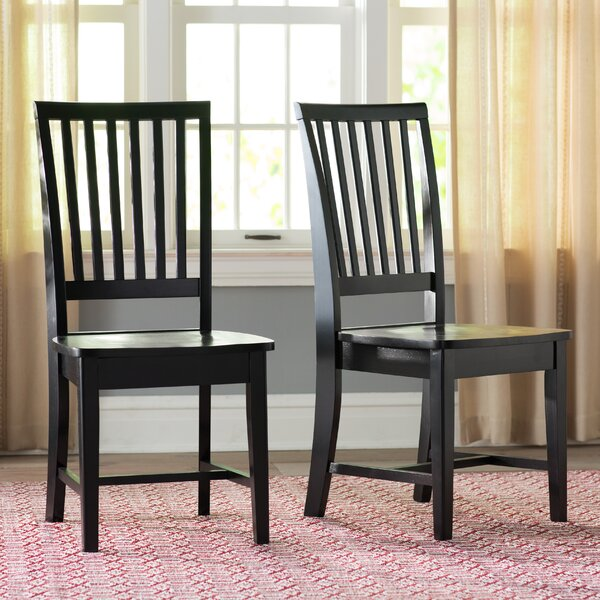 Gamez Solid Wood Dining Chair (Set of 2) by Laurel Foundry Modern Farmhouse