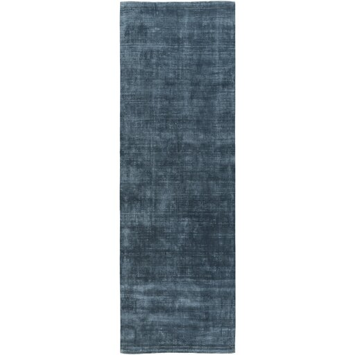 Maxim Hand-Tufted Teal Area Rug by Wade Logan