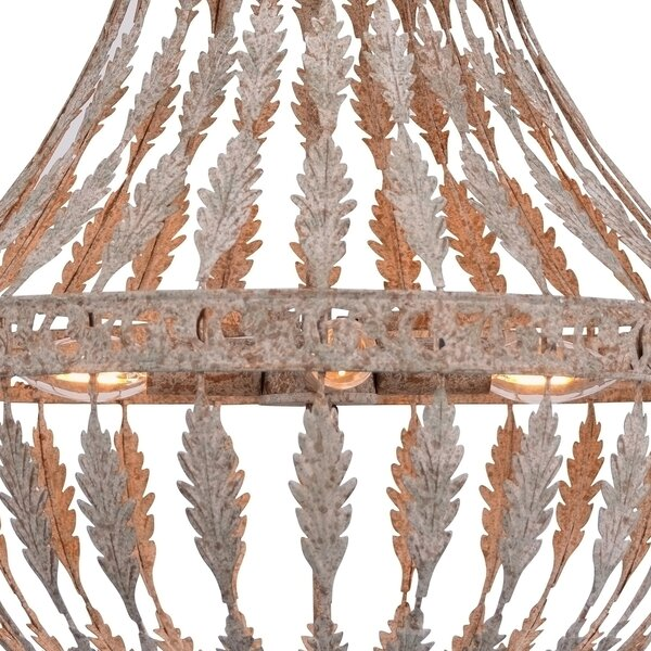 Capirano Rustic Empire Chandelier by Bay Isle Home