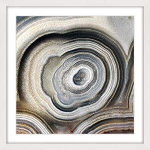 'The Eye Of The Geode' Framed Painting Print by Marmont Hill