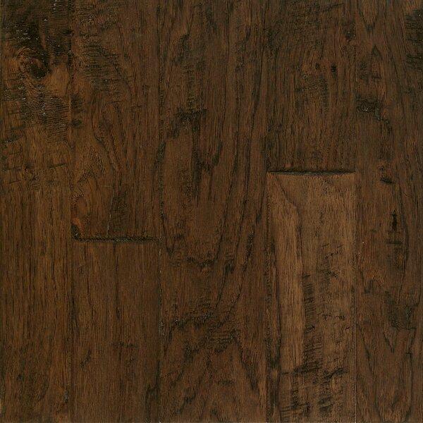Artesian Random Width Engineered Hickory Hardwood Flooring in Barrel Brown by Armstrong Flooring