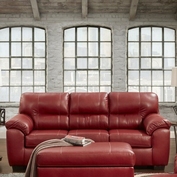 Luxury Brands Rainsburg Red Sofa New Deal Alert