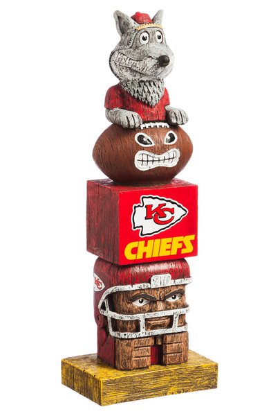 NFL Tiki Totem Statue by Evergreen Enterprises, In