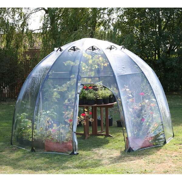 Haxnicks 11.5 Ft. W x 11.5 Ft. D Greenhouse by Tierra Garden