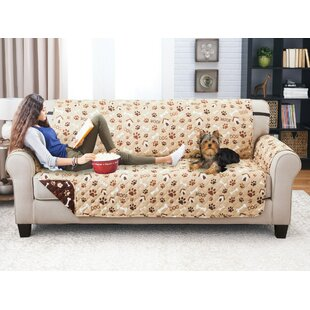 Printed T-Cushion Sofa Slipcover