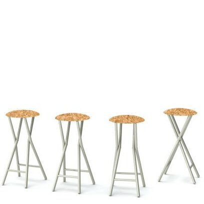 Corkboard 30'' Patio Bar Stool (Set of 4) by Best of Times