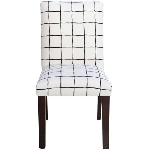 Cheeseman Check Parsons Chair by Brayden Studio