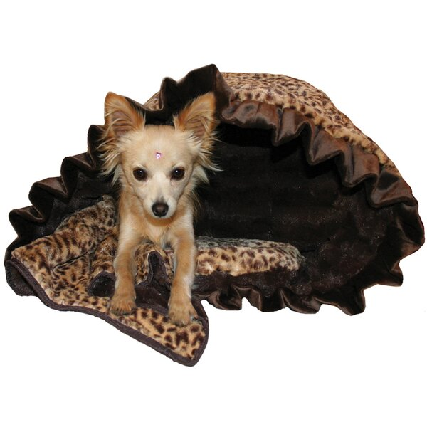 Snuggle Bug Reversible Cheetah Pet Carrier by Pet Flys