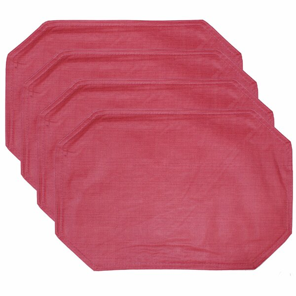 Ford Vinyl with Soft Flannel Backing 13 Placemat (Set of 4) by Winston Porter
