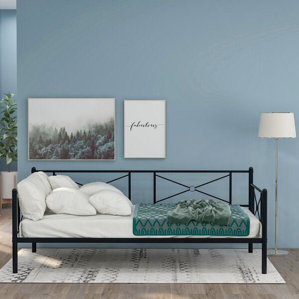 Rizwan Twin Metal Daybed By Red Barrel Studio