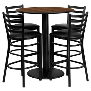 5 piece pub table set - Bistro Table Sets