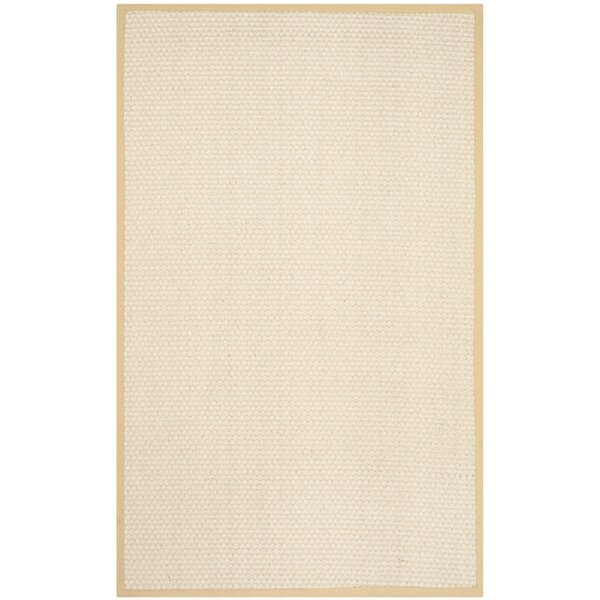 Hydetown Hand Woven Sand Area Rug By Gracie Oaks.
