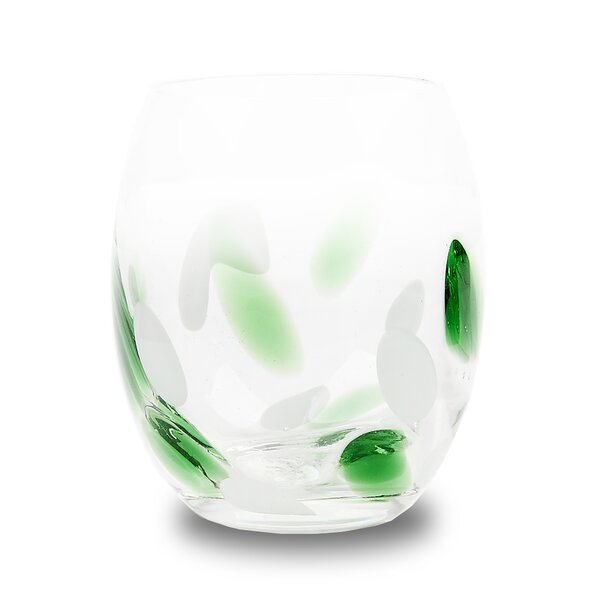 Vanalstyne Cloud Rock Every Day Glasses (Set of 4) by Mercury Row