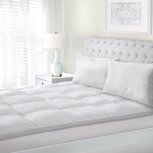 geoffrey down alternative mattress pad