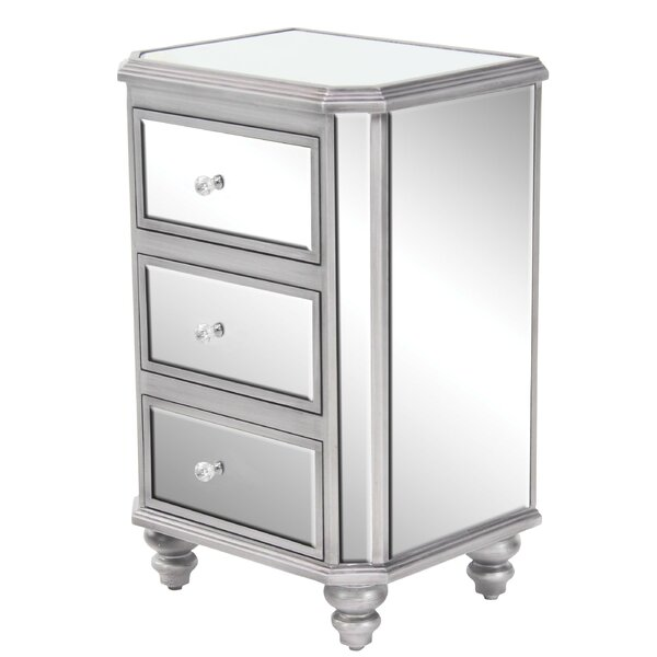 Branner 3 Drawer Nightstand By House Of Hampton by House of Hampton Design