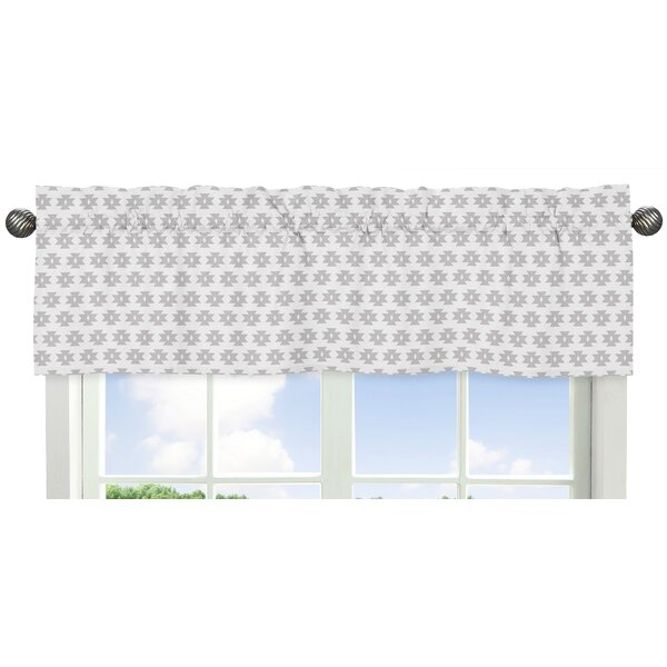 Feather Tribal Geometric Print 54 Window Valance by Sweet Jojo Designs