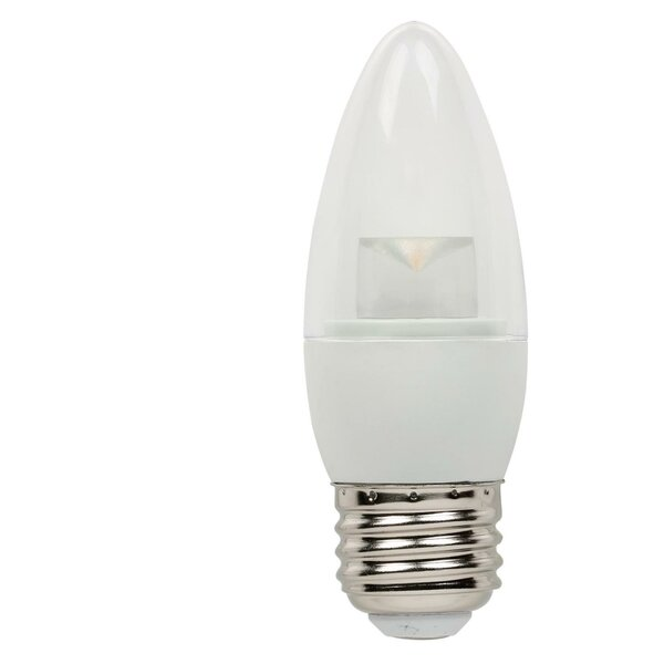 5W E26 Dimmable LED Candle Light Bulb (Set of 6) by Westinghouse Lighting